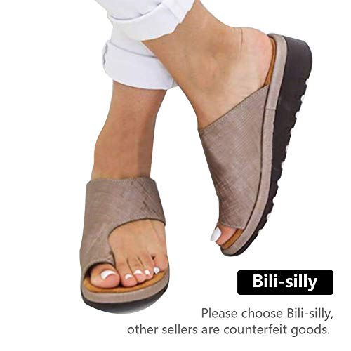 Bili-silly 2019 New Women Comfy Platform Sandal Shoes Comfortable Ladies Sandal Shoes Summer Beach Travel Shoes Fashion Sandals Shoes (US -
