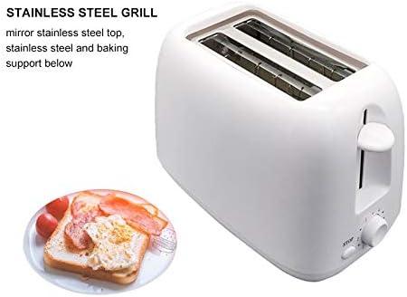 800W Automatische elektrische Mahlzeit Brotbacken Toaster Frühstückswerkzeug für Familien 6 Gänge Verstellbare Küchenmaschine