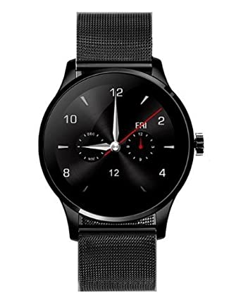 Amazon.com: GUANSHAN K88H Smart Watch IOS Android Heart Rate ...