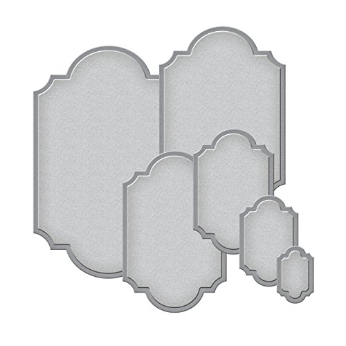 Spellbinders S5-127 Nestabilities Labels Templates,set of six