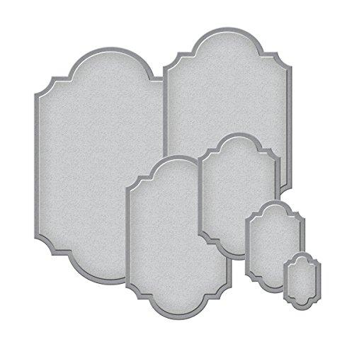 Spellbinders S5-127 Nestabilities Labels Templates,set of six (Nestabilities Collection)