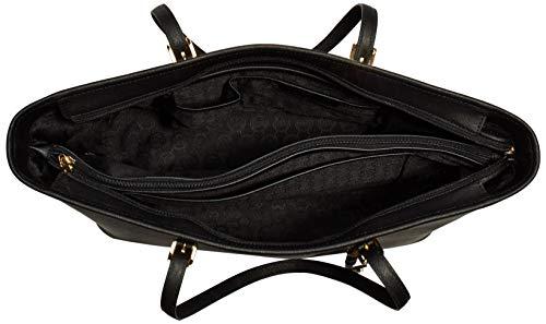 Michael Kors - Jet Set Travel Saffiano Leather Top-Zip Tote, Borsa con Maniglia Donna 5