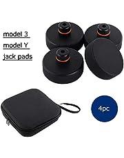 topfit Tesla modell 3 modell Y Jack Point Pad Pucks Jack Lift Pad adapter verktyg för att skydda batterichassifärg