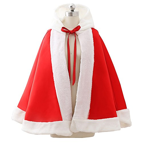 MicBridal - Vestido - para mujer Red B