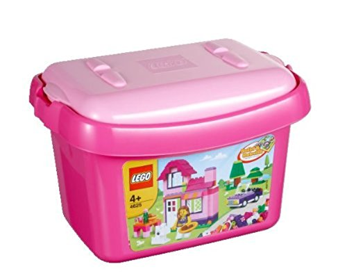 LEGO Bricks and More Pink Brick Box 4625