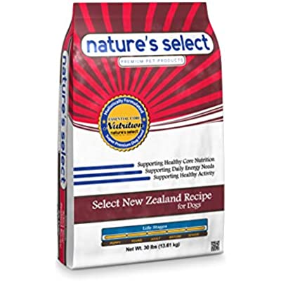 Nature's Select New Zealand Recipe - Lamb Adult Dry Dog Food