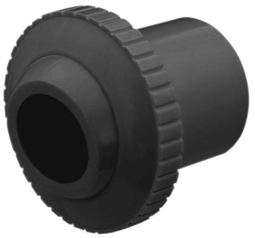 Pentair 540044 Dark Gray Directional Insider Eyeball with 3/4-Inch Opening and 1-1/2-Inch Slip Inlet Replacement, Pool Wall Fittings