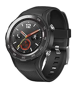 HUAWEI Smartwatch Bluetooth LTE Bracelet Sport en Carbone Noir