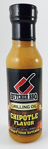 Butcher BBQ Grilling Oil Chipotle,12 oz