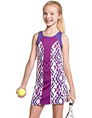 Street Tennis Club Girls Tennis & Golf Sleeveless Dress with Short