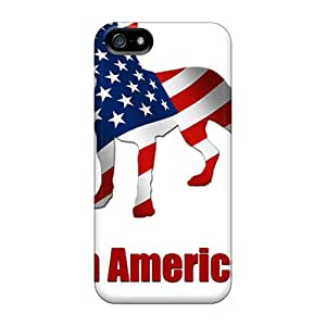 Tpu Case Cover For Iphone 5/5s Strong Protect Case - Pitt Bull Design