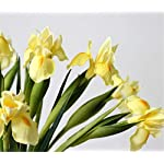 Skyseen-6Pcs-Artificial-Silk-Flower-Bridal-Real-Touch-Iris-Flower-for-Wedding-Party-Banquet-Home-Decoration-Yellow
