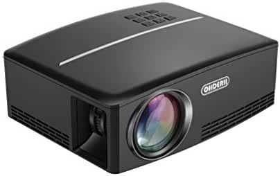 ohderii Projector, LED Lumens 1800ANSI Luminous efficiency 180