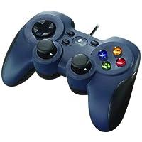 Logitech F310 Gamepad,Özel 4 Düğmeli D-Pad, 1,8 metre Kablo Uzunluğu, PC/Steam/AndroidTV ile Uyumlu