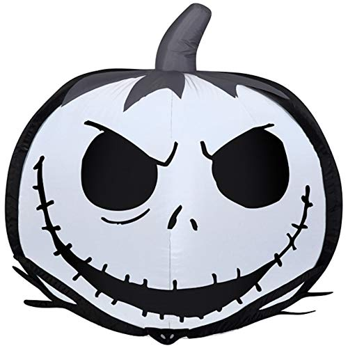 Disney's Tim Burton's The Nightmare Before Christmas 25 years Jack Skellington Pumpkin Airblown Inflatable