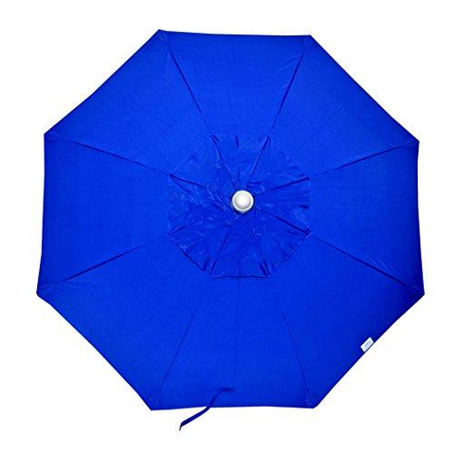 7.5 ft Commercial Grade Fiberglass Beach Umbrella and Patio