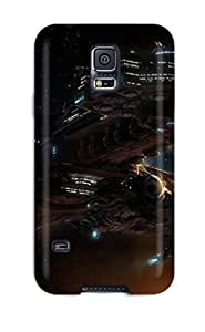 For Galaxy S5 Premium Tpu Case Cover Starcraft Protective Case
