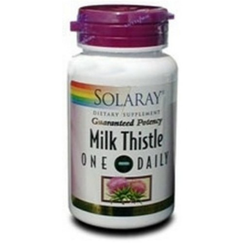 Cheap Solaray One Daily Milk Thistle, 30 Caps, 0.15 Bottle
