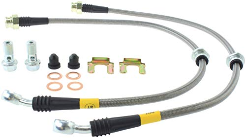 StopTech 04-07 STi Stainless Steel Rear Brake Lines (950.47504) ()