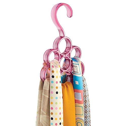 mDesign Organizer Storage Pashminas Accessories