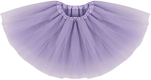 [Simplicity Infant Tulle Dance Tutu Skirt for Dress Up & Fairy Costume,Lavender] (Guy Dance Costumes)