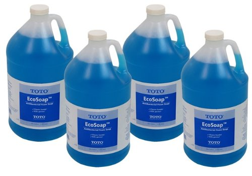 Toto TSFB1 One-Gallon Bottles of Soap, 4-Pack by TOTO (Image #1)
