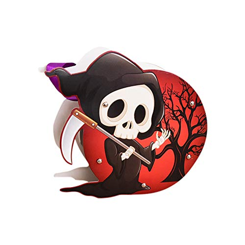 Halloween Goodie Bags Animated Witch Pumpkin Grim Reaper Shape Trick or Treat Goody Bag Durable Reusable Halloween Cookies Pouch Spooky Halloween Decorations for Boys Girls