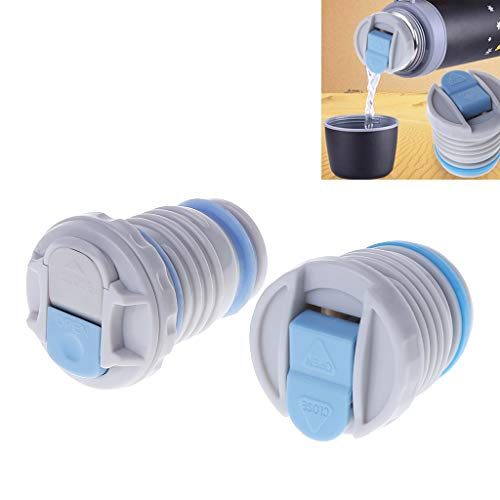 4.4cm/4.5cm Thermos Bottle Plug Vacuum Flask Lid Leak Proof Flask Lid Thermo Mug Stopper Thermos Cover Portable Universal Travel Mug Accessories