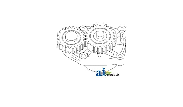 amazon com: j937027 pump engine oil fits case-ih tractor: industrial &  scientific
