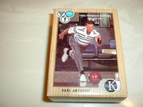 PBA Bowling Press card Set ~ 1990 Premier Edition ~ 100 Card Set ~ Kingpins