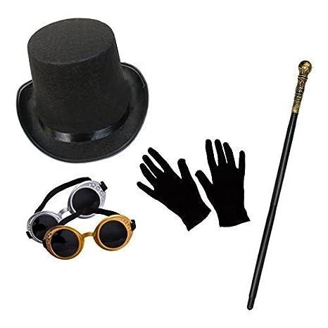 Unisex Steampunk Costume Set (Cilindro f6ba488cc972