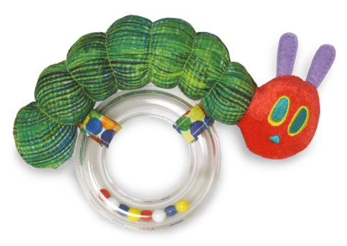 Eric Carle The Very Hungry Caterpillar Ring Rattle (japan import)