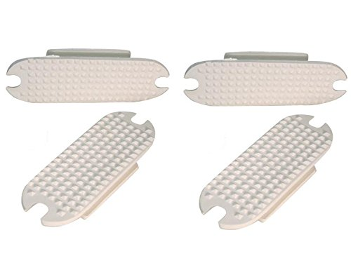 Replacement Rubber Pads for English Stirrup Irons Lot of 2 pairs
