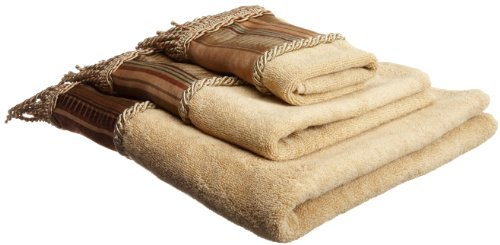 Popular Bath Contempo Spice 3-Piece Towel Set ()