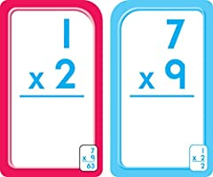 graphic regarding Printable Multiplication Flash Cards 0 12 called College Zone - Multiplication 0-12 Flash Playing cards, Ages 8 and Up
