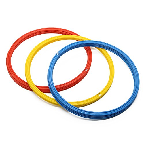 Speed Rings Agility Training Rings Tennis Soccer Football Basketball Training Aid With Carrying Bag Unlimited Potential