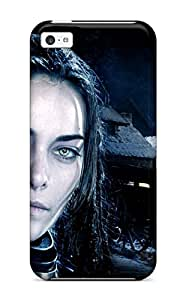 Slim Fit Tpu Protector Shock Absorbent Bumper Underworld Woman Blue Black Face War Vampires People Movie Case For Iphone 5c