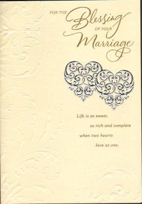 Marriage Blessing Wedding Greetings Cards