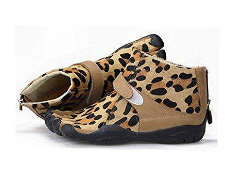 5toe Dames Sexy Luipaard Vijf Vingers Laarzen Paardenhaar Leisure Schoenen Voor Varen Vissen Fietsen Sexy Luipaard