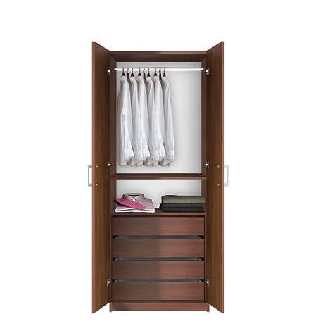 Bella Wardrobe Closet   Hanging Plus Full Extension Drawers