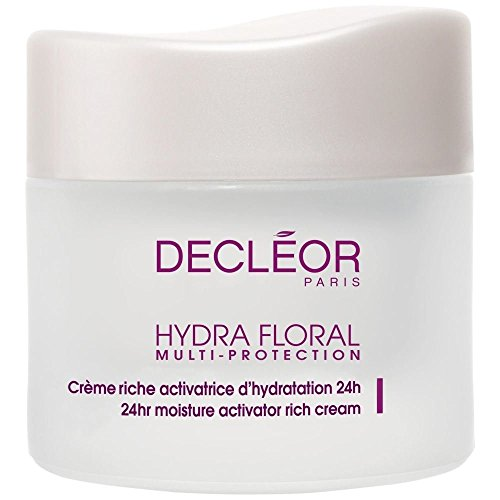 Decléor Hydra Floral Multi Protection Rich Cream 50ml - Pack of 6 (Hydra Floral Eye)
