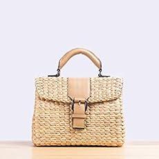 ae05f584c57f VT x MM Mini Vipha Straw woven handmade bag by Thai expert local artisans