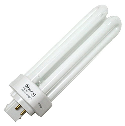 GE Lighting 97635 (50-Pack) F42TBX/835/A/ECO 42-Watt Compact Fluorescent Light Bulb, 3500K, 3200 Lumens, T4 Shape, 4 Pin Triple GX24-q4 base