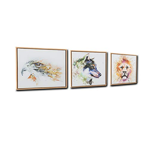 Sumeru Oil Paintings Animal Wall Art Pictures Abstract People Artworks for Home Living Bedroom Office Decoration 3 Pieces 13
