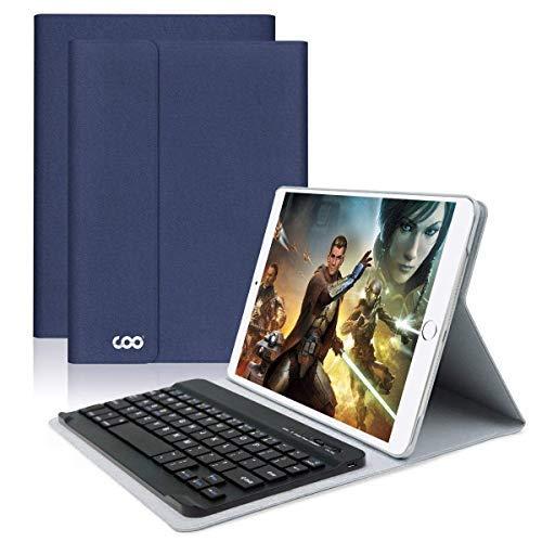 New iPad Keyboard Case 9.7 for New ipad 2018 (6th) iPad Pro 2017/iPad Air 2/iPad Air COO Detachable ...