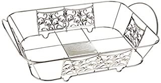 Hanna K. Signature 15100 Decorative Wire Pan Holder for 1/2 Aluminum Pan, Chrome (B015U77L86) | Amazon Products