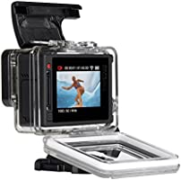 GoPro Hero4 Hero 4 12MP Full HD 4K 15fps 1080p 60fps Built-In Wi-Fi  Waterproof Wearable Camera Silver Adventure Edition (32GB)