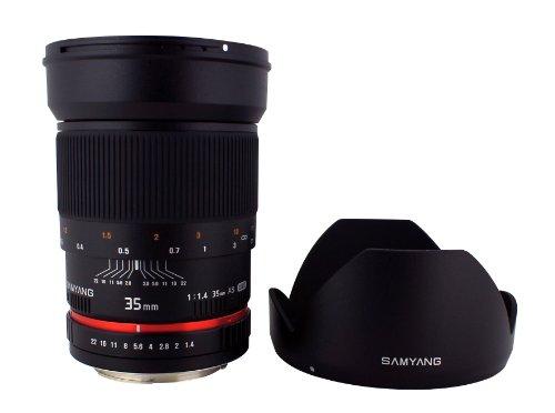Samyang SY35MAE-N 35mm F1.4 Lens for Nikon AE by Samyang