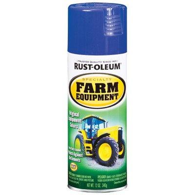 12 Oz Ford Blue Farm Equipment Spray Paint [Set of 6]