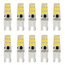 3W G9 LED Bi-pin Lights T 16 SMD 5730 260 lm Warm White Cold White K V ( Light Source Color : Warm White , Voltage : 200-240V )